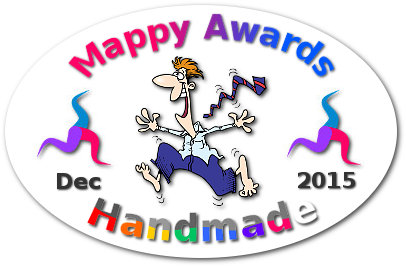 Mappy Awards December 2015 'HANDMADE' Winner by Thaneeya McArdle
