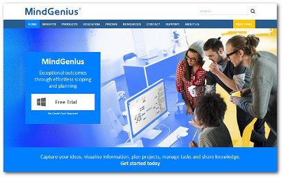 world's best mind mapping software 2016 challenge - MindGenius screenshot