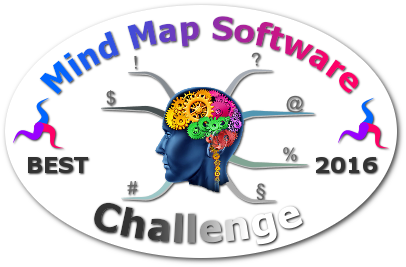 World's Best Mind Mapping Software 2016 Challenge - Badge