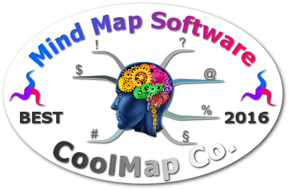 World's Best Mind Mapping Software 2016 Challenge - CoolMap Co. badge
