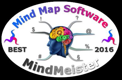 World's Best Mind Mapping Software 2016 Challenge - MIndMeister badge