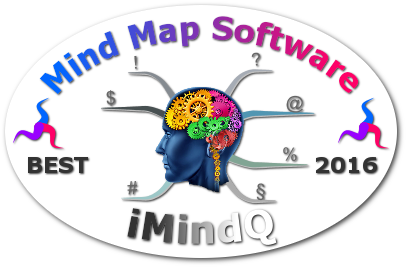 World's Best Mind Mapping Software 2016 Challenge - iMindQ badge