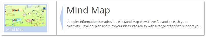 imindmap 9 review - mind map view