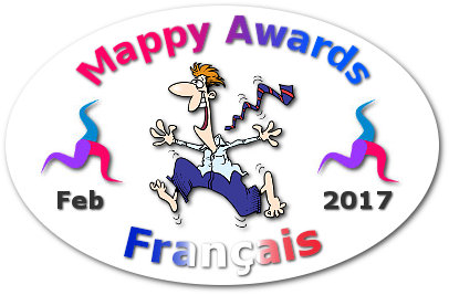 Mappy Awards Febuary 2017 'FRANCAIS' Winner by Vincent Damato